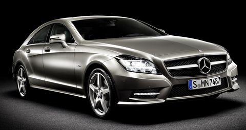 Cls-4 in Weltpremiere - neuer CLS von Mercedes-Benz