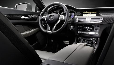 Cls-5 in Weltpremiere - neuer CLS von Mercedes-Benz