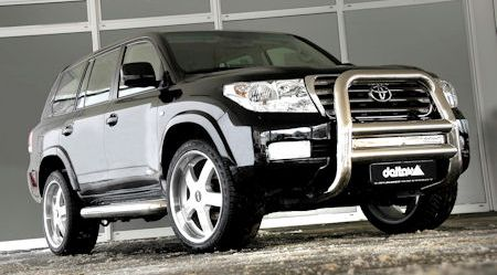 Delta4x4 Toyota Land Cruiser V8 2 in