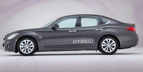 Infiniti-m35h-2 in Erstes Hybridmodell: Infiniti M35h