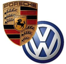 Porsche Vw Logo in