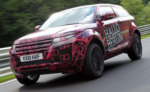 Range-rover-evoque-2 in Nürburgring: Range Rover Evoque im Härtetest