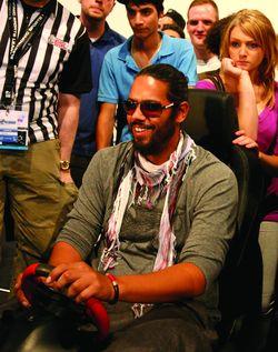 Samy-deluxe in gamescom: Polo GTI zu Besuch