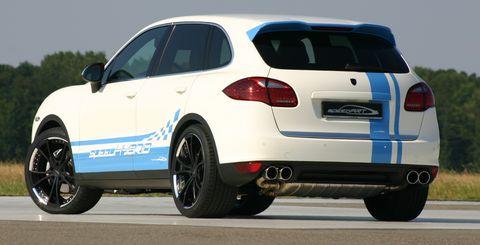 Speedhybrid-2 in speedArt Porsche Cayenne S: speedHybrid 450