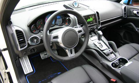 Speedhybrid-4 in speedArt Porsche Cayenne S: speedHybrid 450