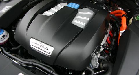 Speedhybrid-5 in speedArt Porsche Cayenne S: speedHybrid 450