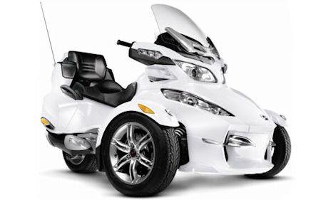 Can Am Spyder RT Limited 2 in Can-Am Spyder RT Limited: Neuer Luxus für das offene Dreirad
