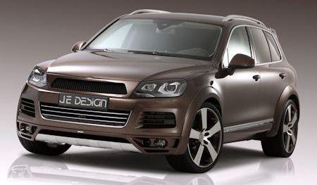 JE Design VW Touareg 2 in JE Design VW Touareg II: Der breite Kraftprotz mit Ausdrucksstärke