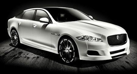 Jaguar XJ75 Platinum Concept 2 in Jaguar XJ75 Platinum: Die dezent-brachiale und schrille Jubel-Katze