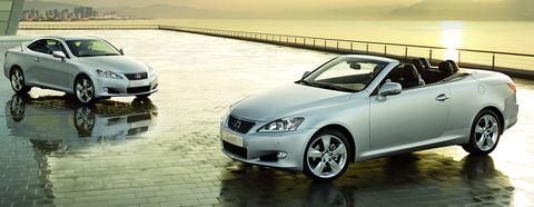 LEXUS IS 250C 1 in Lexus: Aufwertung für das Cabriolet-Coupé IS 250C