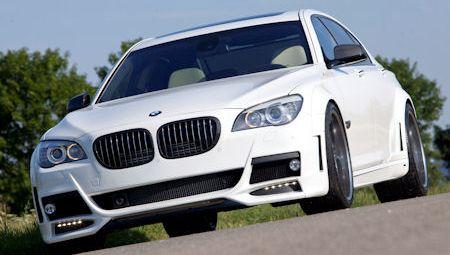 Lumma BMW 760Li 2 in Lumma BMW 7er Widebody: Purer Luxus in voller Breite