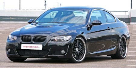 MR Car Design BMW 335i Black Scorpion 2 in BMW 335i Black Scorpion: Der Gift-Cocktail von MR Car Design