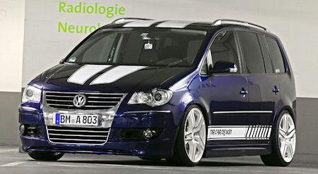 MR Car Design VW Touran Racing 2 in VW Racing Touran von MR Car Design: Familien-Van wird zum Heißsporn