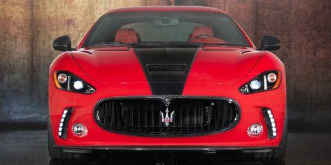 Mansory-Maserati-GranTurismo-2 in Maserati GranTurismo: Mansory feilt am Dreizack