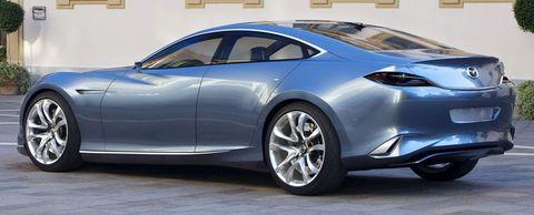 Mazda Shinari 05 in Mazda Shinari: Viertüriges Sportcoupé als Design-Ausblick