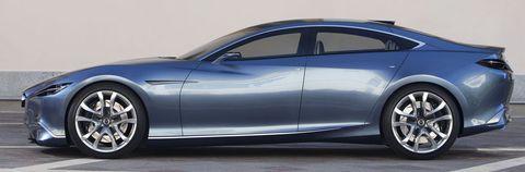 Mazda Shinari 06 in Mazda Shinari: Viertüriges Sportcoupé als Design-Ausblick