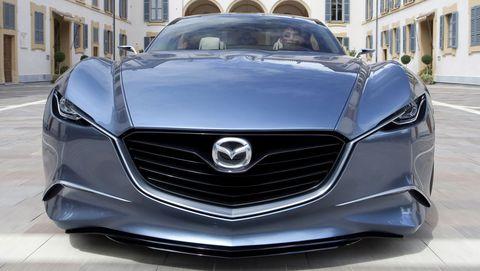 Mazda Shinari 15 in Mazda Shinari: Viertüriges Sportcoupé als Design-Ausblick