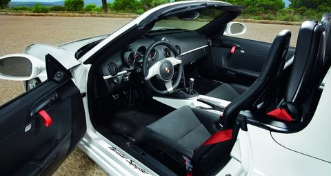 Porsche-Boxster-Spyder-4 in Porsche Boxster Spyder: Best Handling Car