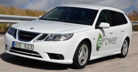 Saab-9-3-Sport-Combi-E-Power-1 in E-Power: Saab 9-3 Sport Combi kommt als Elektroauto