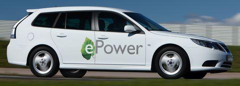 Saab-9-3-Sport-Combi-E-Power-2 in E-Power: Saab 9-3 Sport Combi kommt als Elektroauto