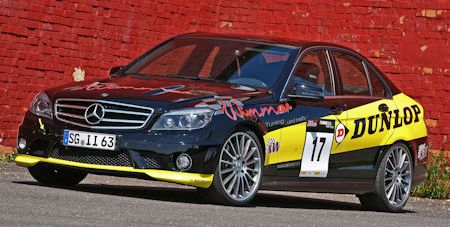 Wimmer Mercedes C 63 AMG Dunlop Performance 2 in