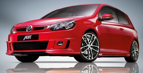 Abt-vw-golf in Mehr Power: Chiptage bei Abt