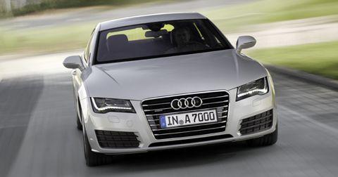 Audi-a7-sportback in Der neue Audi A7 Sportback rollt heran