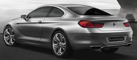 Bmw-6er-2 in Erste Bilder: BMW Concept 6 Series Coupé