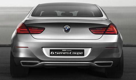 Bmw-6er-4 in Erste Bilder: BMW Concept 6 Series Coupé