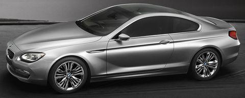 Bmw-6er-6 in Erste Bilder: BMW Concept 6 Series Coupé