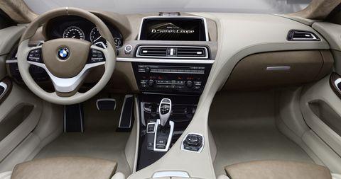 Bmw-6er-7 in Erste Bilder: BMW Concept 6 Series Coupé