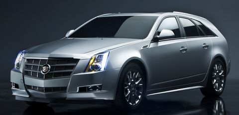 Cadillac-cts-sport-wagon in Neustart: Cadillac kommt mit frischen Modellen nach Europa