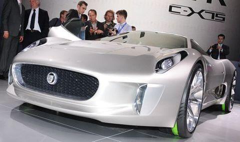 Jaguar-c-x75 in Video: Range Rover Evoque und Jaguar C-X75