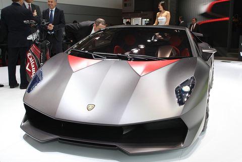Lamborghini Sesto Elemento 2010. Structure isoct , fiber sesto