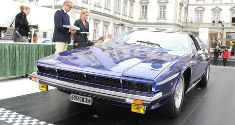 Lamborghini-faena in Lamborghini bei den Schloss Bensberg Classics 2010