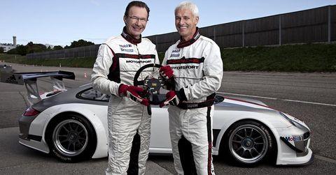 Michael-macht-matthias-mueller in Porsche Speedster: Enthüllung vom neuen Vorstandsvorsitzenden Matthias Müller