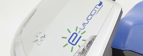 Peugeot-e-vivacity in Elektroroller: Peugeot präsentiert E-Vivacity