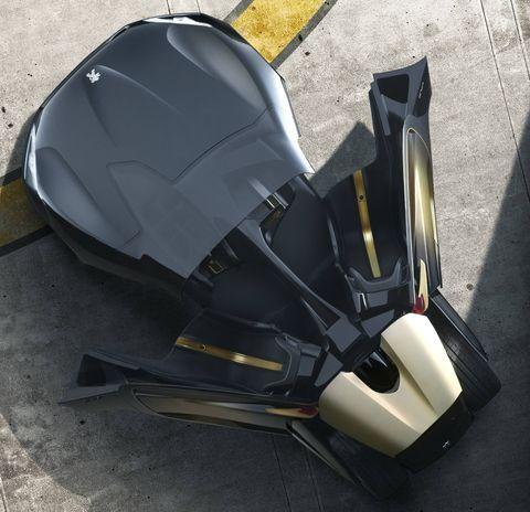 Peugeot-ex1-3 in Peugeot EX1: 2-sitziger Roadster mit futuristischem Design