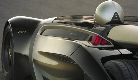 Peugeot-ex1-4 in Peugeot EX1: 2-sitziger Roadster mit futuristischem Design