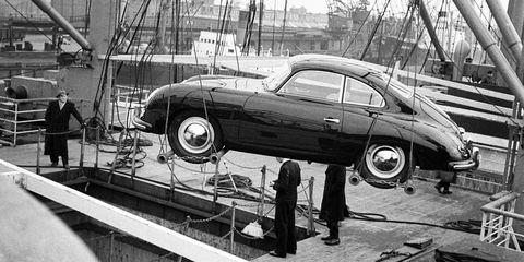 Porsche-356-1 in 60 Jahre Porsche in Amerika