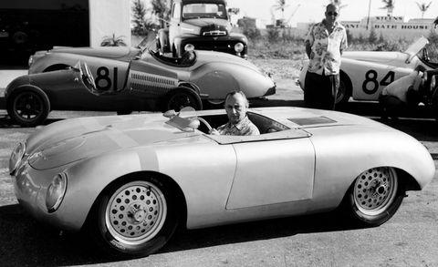 Porsche-356-4 in 60 Jahre Porsche in Amerika