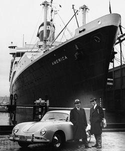 Porsche-356-5 in 60 Jahre Porsche in Amerika