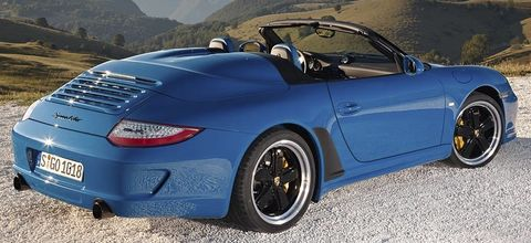 Porsche-911-speedster-1 in Hut ab - neuer Porsche 911 Speedster