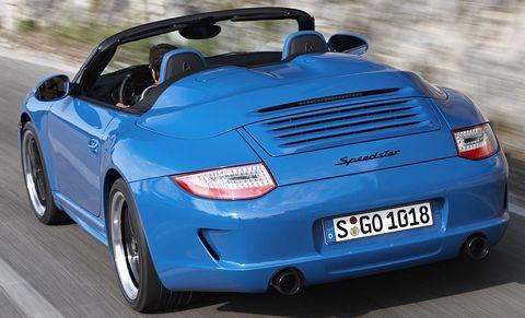 Porsche-911-speedster-6 in Hut ab - neuer Porsche 911 Speedster
