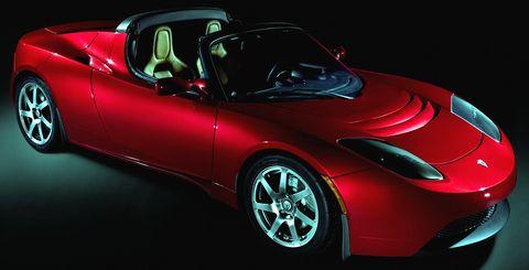 Tesla-roadster-2 in Elektro-Rendezvous: Tesla geht nach Paris