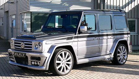 ART G Streetline Sterling Mercedes G Klasse 2 in ART G Streetline Sterling: Mercedes G-Klasse wird zum Edel-Titan