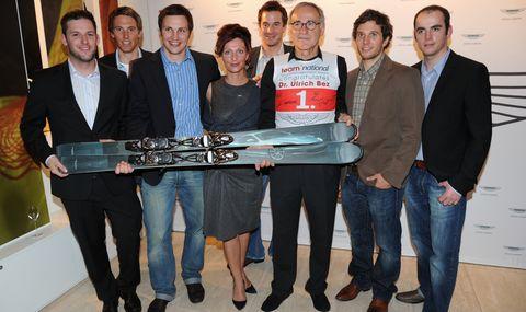 Aston-Martin-Store Bez Skiteam in Aston Martin München: Store-Eröffnung