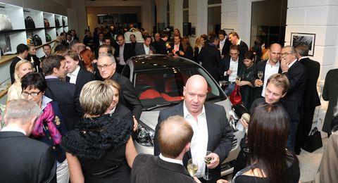 Aston-Martin-Store Party in Aston Martin München: Store-Eröffnung