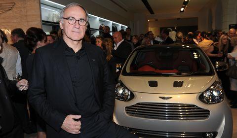 Aston-Martin Bez Cygnet in Aston Martin München: Store-Eröffnung