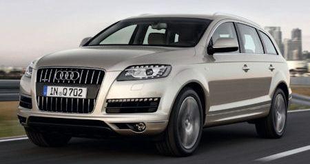 Audi Q7 2 in Audi Q7 3.0 TDI: Neues Dickschiff mit Minimal-Verbrauch